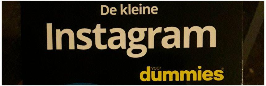 De kleine Instagram voor Dummies Jaap de Bruijn BBNC recensie review pocket