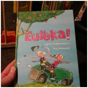Eureka! Ingrid Vanderkerckhove Clavis Zelf Lezen Voorleesboek recensie review