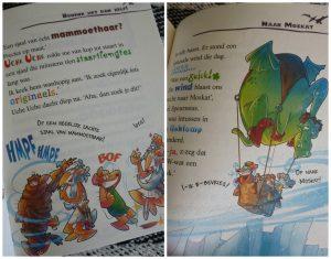 Oerknagers: Het feest van de Grote Donder Geronimo Stilton Zelf Lezen De Wakkere Muis kerst recepten vormgeving spannend humor cadeautje prenten recensie review