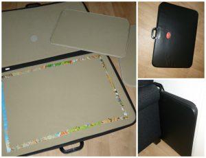 Jumbo Portapuzzle Deluxe puzzelaccessoire puzzelmat oprollen puzzel 1000 stukjes leggen opbergen meenemen puzzelen tafel rechtop wegzetten bank oplossing recensie review