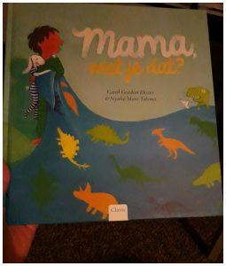 Mama, wist je dat? Carol Gordon Ekster prentenboek voorlezen slapen gaan Clavis recensie review bedtijd