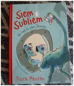 Siem Subliem en het ei van Jannes Tosca Menten boekenreeks Van Goor Zelf Lezen recensie review