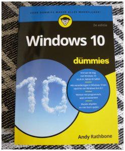 Windows 10 voor Dummies Andy Rathbone BBNC recensie review