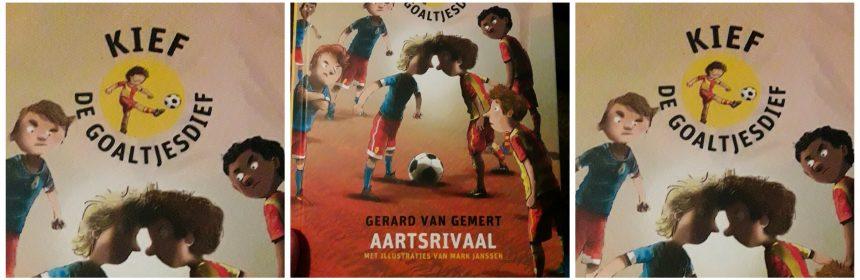 Aartsrivaal Kief de Goaltjesdief 13 Gerard van Gemert Clavis recensie review voetbal wedstrijd
