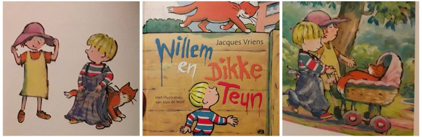 Willem en Dikke Teun Jacques Vriens Van Holkema & Warendorf zelfvertrouwen onzekerheid recensie review voorleesboek