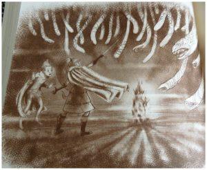 De 13 Zwaarden: Ge geheime tunnel Thea en Geronimo Stilton reeks serie De Wakkere Muis goed en kwaad strijd spannend fantasy wereld recensie review Het laatste zwaard