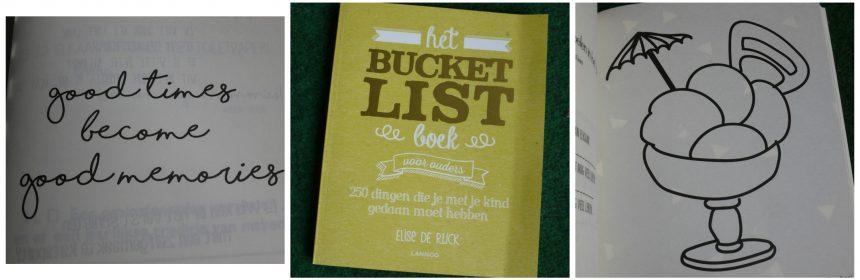 Het bucketlist boek voor ouders Elise de Rijck assortiment serie overzicht recensie review things-to-do
