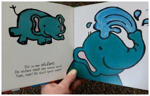 Ik en de wilde dieren Liesbeth Slegers prentenboek Clavis recensie review informatief