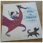 Jill & Draak Lesley Barnes prentenboek BBNC recensie review sprookje leefden nog lang en gelukkig vrolijk vastgebonden adem happy end personages