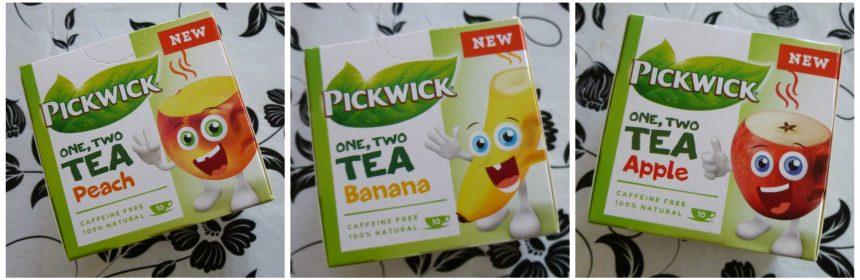 Pickwick One Two Tea Banaan kinderthee Kids Tea 100 % natuurlijk rooibos thee cafeïnevrij puzzeltje recensie review