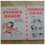 Pyjamadagen Sara Andersen strips Things to do Terra Lannoo uitstellen notitieboekje huispak grappig hilarisch cadeau recensie review