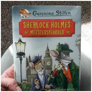 Sherlock Holmes Meesterspeurder Geronimo Stilton De Wakkere Muis Zelf Lezen klassieker recensie review