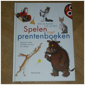 Spelen met prentenboeken Anke van Boxmeer Els van Dijck Onderwijs Opvoeding Lemniscaat recensie review kinderopvang gastouder leerkrachten