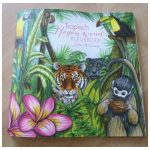 Tropisch Regenwoud Kleurboek Julia Woning kleurplaten kleuren volwassenen BBNC jungle oerwoud dieren planten flora fauna alcoholmarkers enkelzijdig bedrukt recensie review