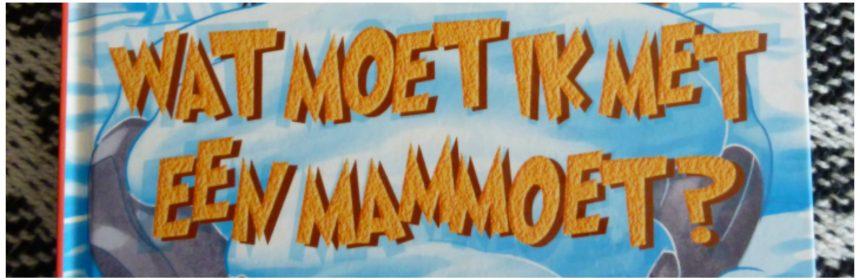 Wat moet ik met een mammoet? Geronimo Stilton Zelf Lezen, De Wakkere Muis recensie review prehistorie oertijd