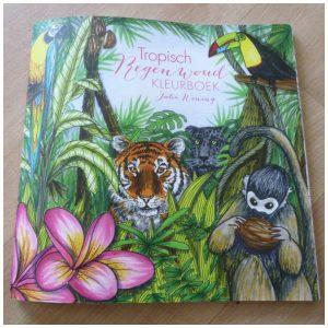Kleurplaten Dieren Uit De Jungle.Tropisch Regenwoud Kleurboek Recensie