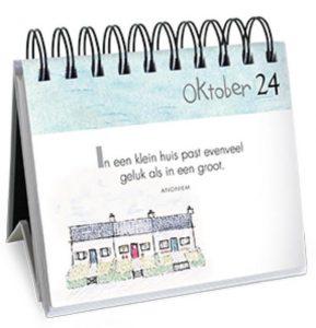 365 Happy Days! Cadeauboek bureau kalender ImageBooks citaat tekening schrikkeljaar presentje cadeau afbeelding positieve spreuk recensie review