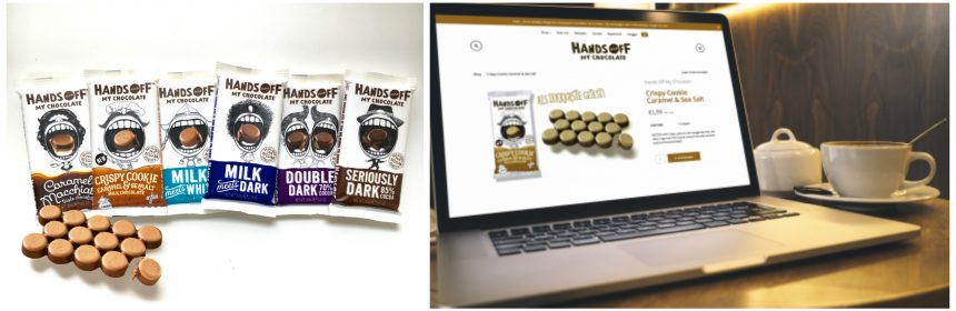 Hands Off My chocolate webshop