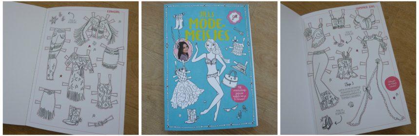Jills Modemeisjes Jill Schirnhofer Karakter Uitgeverij Hobby creatief model paspop kleding stijlen ontwerpen mixen recensie review