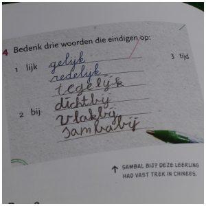 Meester Mark rekent het goed Mark van der Werf Scriptum Nederlandse Boeken leerkrachten leerlingen antwoorden briefjes tekeningen juf nakijken Facebook pagina kinderlogica recensie review