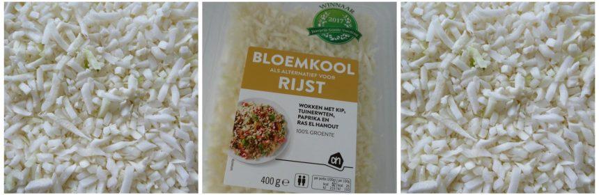 Albert Heijn Bloemkool rijst bloemkoolrijst zelf maken groente 250 gram per dag voedingscentrum onderzoek nasi recensie review