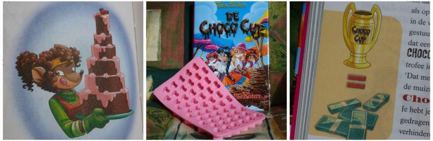 Thea Sisters De Choco Cup Thea Stilton De Wakkere Muis Heel Topford Bakt chocolade chocoladefabriek Equador vriendinnen wedstrijd onderzoek recepten speciale editie bakvorm siliconen recensie review