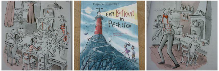 Een bofkont in pechtstad Thijmen Gijsbertsen Van Holkema & Warendorf Zelf Lezen recensie review