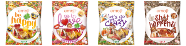 Emoji® Shit Happens! Gummy Candy Ragolds gummiesnoepjes emoticons cola smaak glutenvrij natuurlijke smaakstoffen Action recensie review