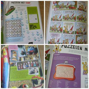 Het grote Kidsweek Vakantieboek Deel 4 Unieboek Spectrum Doeboek puzzelen raadsels lezen moppen strips weetjes knutseltips recensie review