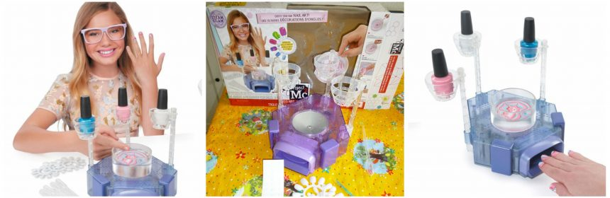 Project Mc2 H2O Nail Science Kit Nagellakstudio Marmer effect nagels Make Up Science Kit MGA Entertainment Netflix DIY proefjes vlog