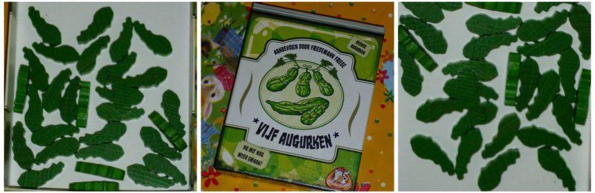 5 augurken 8+ kaartspel White Goblin Games slag ronde winnaar kaarten recensie review