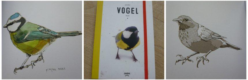 Pocket Vogelboek Gerard Janssen Uitgeverij Snor natuur tekeningen informatie schrijven tekenen herkennen tuin park omgeving recensie review