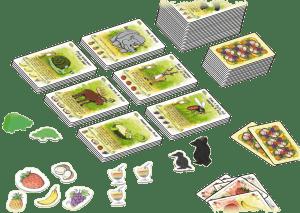 Fabelfruit kaartspel familiespel gezelschapsspel spelletje White Goblin Games fabelsappen spel verandert locaties recensie review