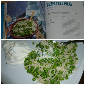 Fidan's Family Food Fidan Ekiz Kookboek Unieboek Spectrum recepten Turkse gerechten makkelijke variant eenvoudig keukenprinses familie Bezelyeli pilav yoghurt-mezze recensie review