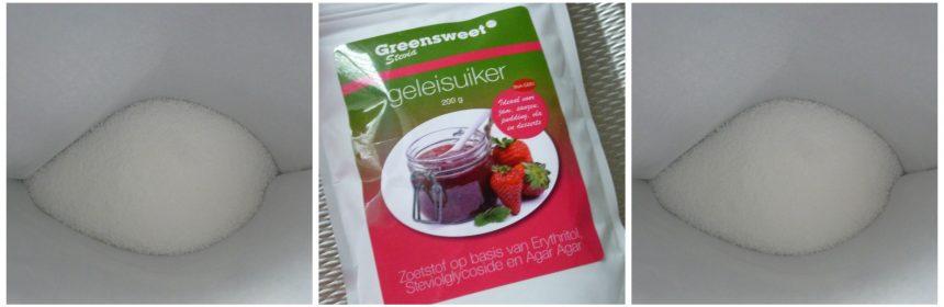 Greensweet Stevia Geleisuiker pruimenjam zoetheid zoetstof binding gelatine fruitzuren pectine keuken diabetes koolhydraatarm dieet recensie review