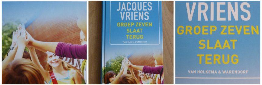 Groep zeven slaat terug Jacques Vriens Zelf Lezen jeugdboek van Holkema & Warendorf school leraar doelgroep kindermishandeling recensie review