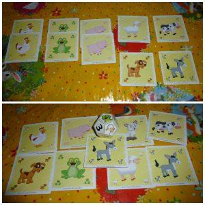 Loco Het knotsgekke dierengeluidenspel Kaartspel 5+ University Games plezier dobbelsteen geluiden kaarten gelachen vakantie compact recensie review