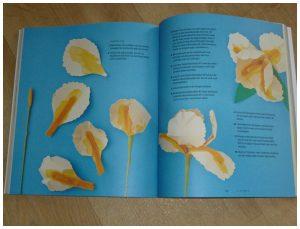 Maak de mooiste papieren bloemen Bobby Pearce BBNC Hobby papier boeket cadeau kado bloementape ijzerdraad meeldraden stampers bloemsoort patronen recensie review