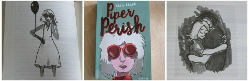 Piper Perish Kayla Cagan Young Adult dagboek Van Goor Andy Warhol kunst creatief vermakelijk mislukken recensie review