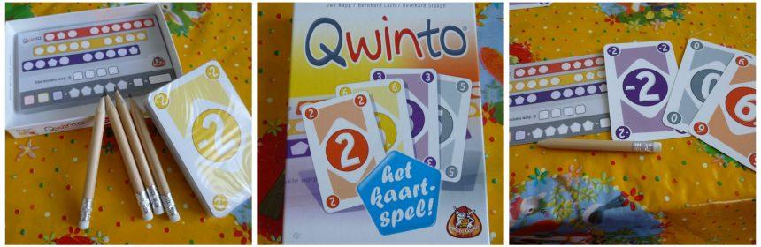Qwinto het Kaartspel White Goblin Games dobbelspel 8+compacte verpakking vakantie recensie review