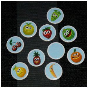 Rapido Familiespel University Games geheugenspel memorie memory speelkaarten fiches kaarten geheugen veranderd fruit winnaar recensie review