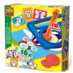 SES Spiraal Tekenset met kaarten Hobby SES Creative spiraal tienkleurenpen kaarten tekeningen vellen gebruiksaanwijzing instructies foto's duidelijk recensie review