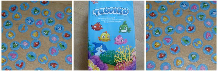 Tropiko University Games 5+ zoekspel borden spelers fiches zeedieren vissen spannend orte speelduur recensie review