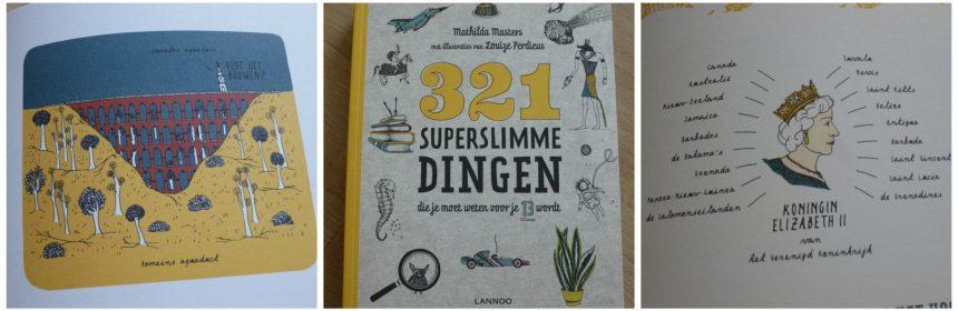321 superslimme dingen die je moet weten voor je 13 wordt Mathilda Masters Louize Perdieus informatief Lannoo encyclopedie weetjes interessant onderwerp beknopt schoolbibliotheek recensie review