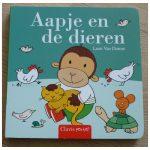 Aapje en de dieren Leen van Durne Clavis Baby- en peuterboekjes kartonboekje flapjesboek recensie review