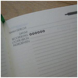 Elke dag een recept Culinair dagboek BBNC MUS Creatief Nederlandse boeken koken recepten mama bereidingswijze ingrediënten opmaak kookdagboek recensie review