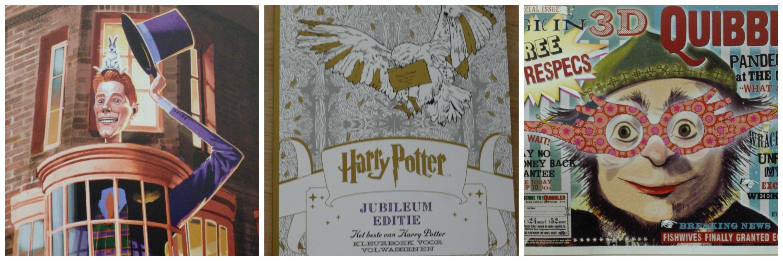 Harry Potter Jubileum Editie Kleurboek Voor Volwassenen