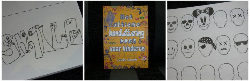 Het ultieme handlettering boek voor kinderem Linda Scott Lannoo Hobby recensie review
