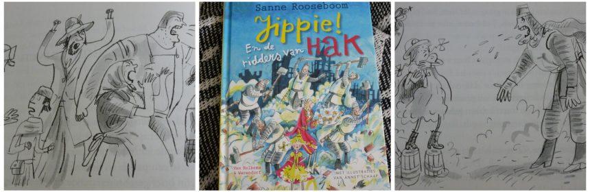 Jippie! En de ridders van Hak Sanne Rooseboom Zelf Lezen van Holkema & Warendorf Jippie! Een humeurig sprookje voorleesboek recensie review