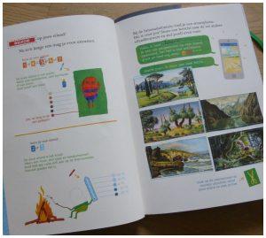 Doeboek Land in Zicht! Pieter Gaudesaboos Brunhilde de Morms Lannoo eiland knippen plakken tekenen kleuren ontwerpen boek creativiteit kinderen volwassenen recensie review